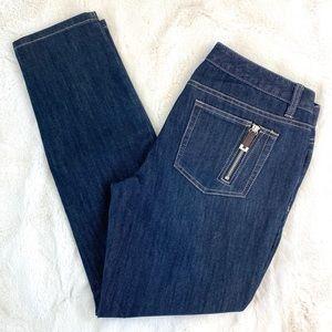 MICHAEL KORS Straight Leg Jeans, 6 Petite
